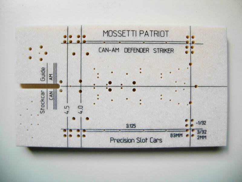 Precision Slot Cars - Products